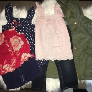 Girls Cute Clothing ( 6 Items)